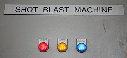 shot blast machine stralen Prins Staalhandel